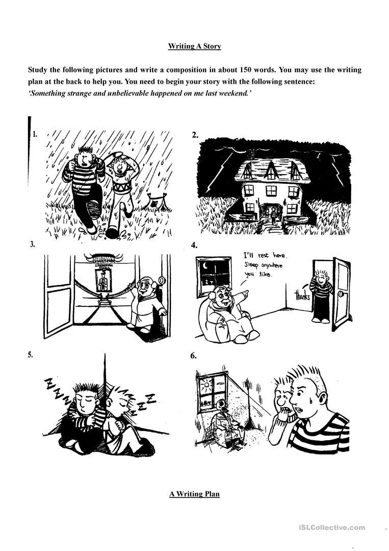 236 Free Esl Storytelling Worksheets