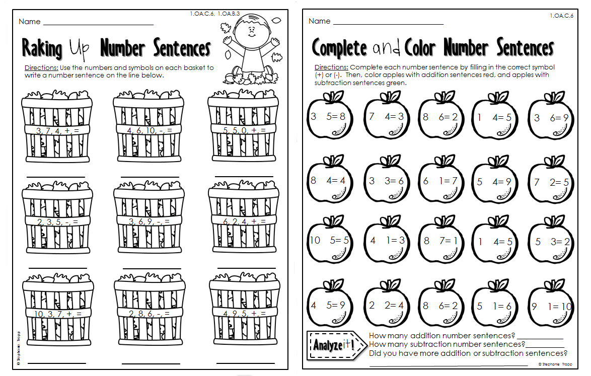 Addition Coloring Pages Grade Primary Subtraction Worksheets Math