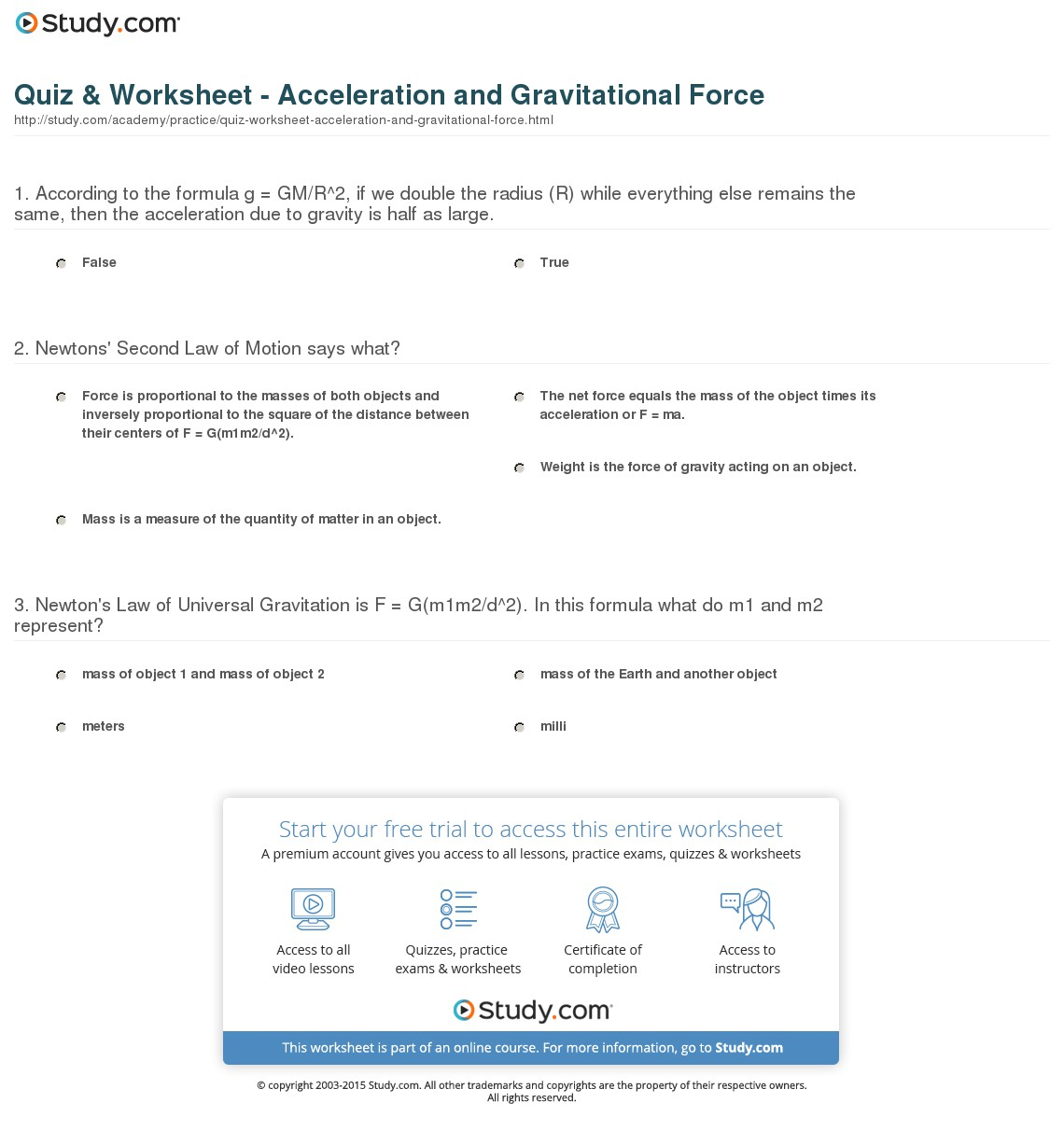 Calculating Acceleration Worksheet Free Worksheets Library