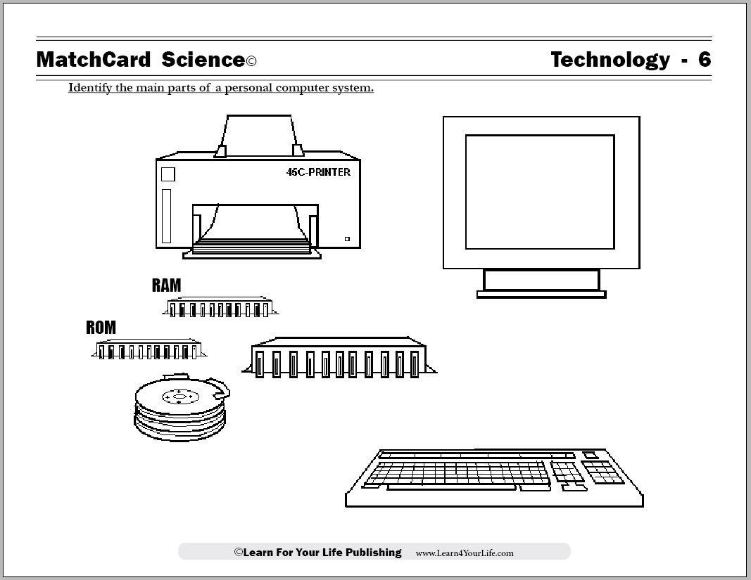 Computer Worksheet