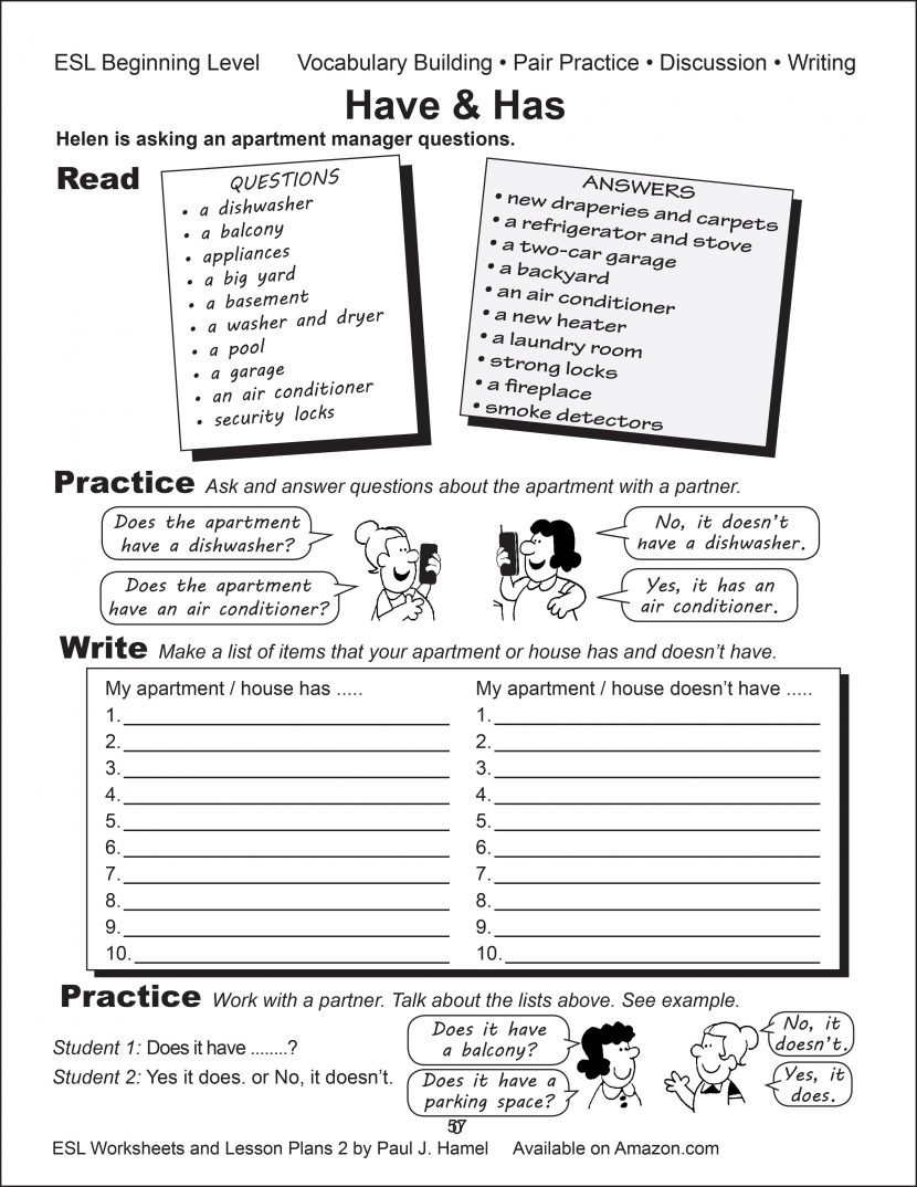 Esl Worksheets Lesson Plans 2 Alta English For Adults Intermediate