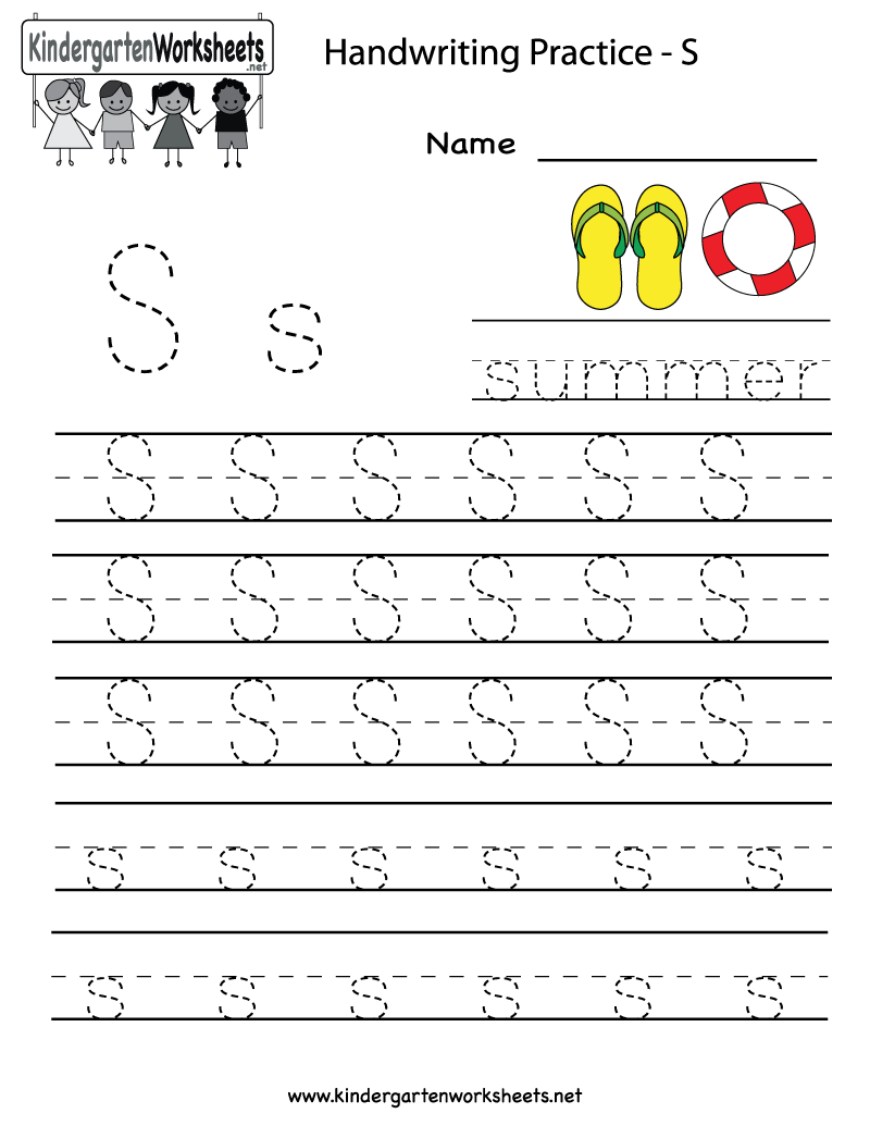 Letter S Tracing Worksheets Free Worksheets Library