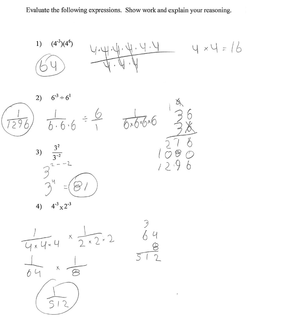 Properties Of Exponents Worksheets Free Worksheets Library