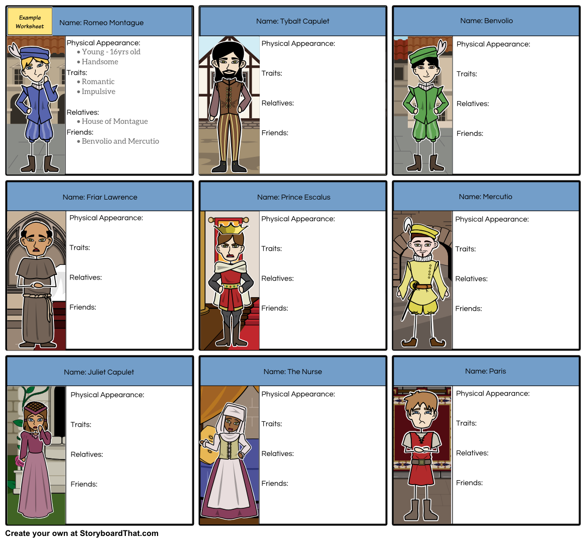 Storyboard That Is Proud To Announce Detailed Teacher Guides