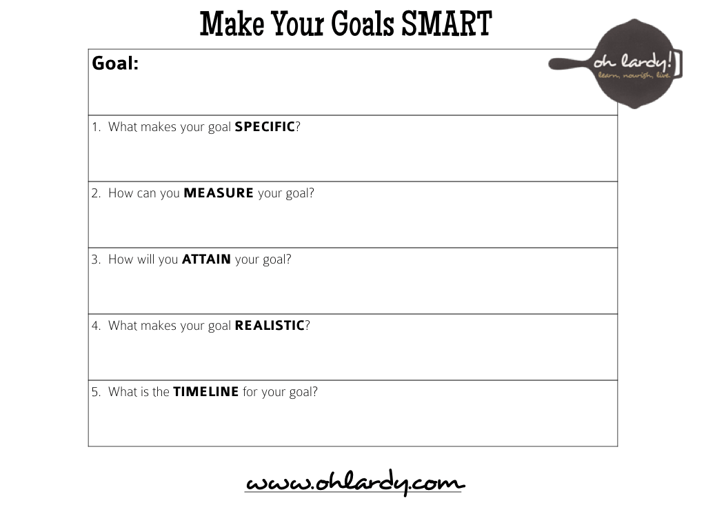 30 Images Of Smart Goals Template Print