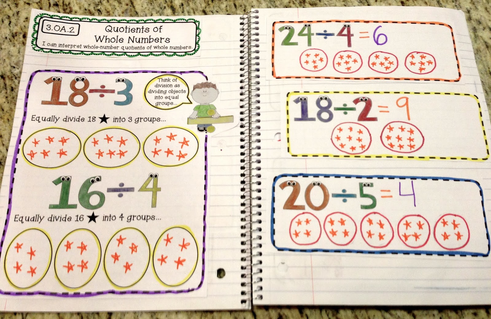 3rd Grade Math Worksheets Division Games And Problems 3 Add ~ Koogra