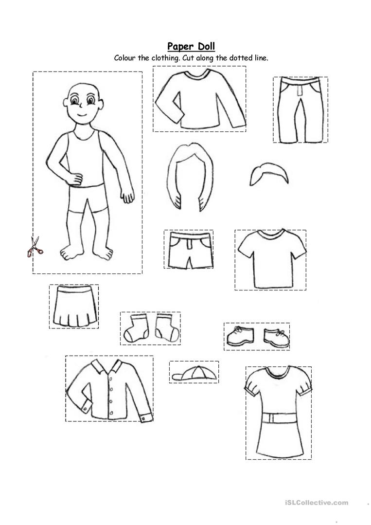 80 Free Esl Clothing Worksheets