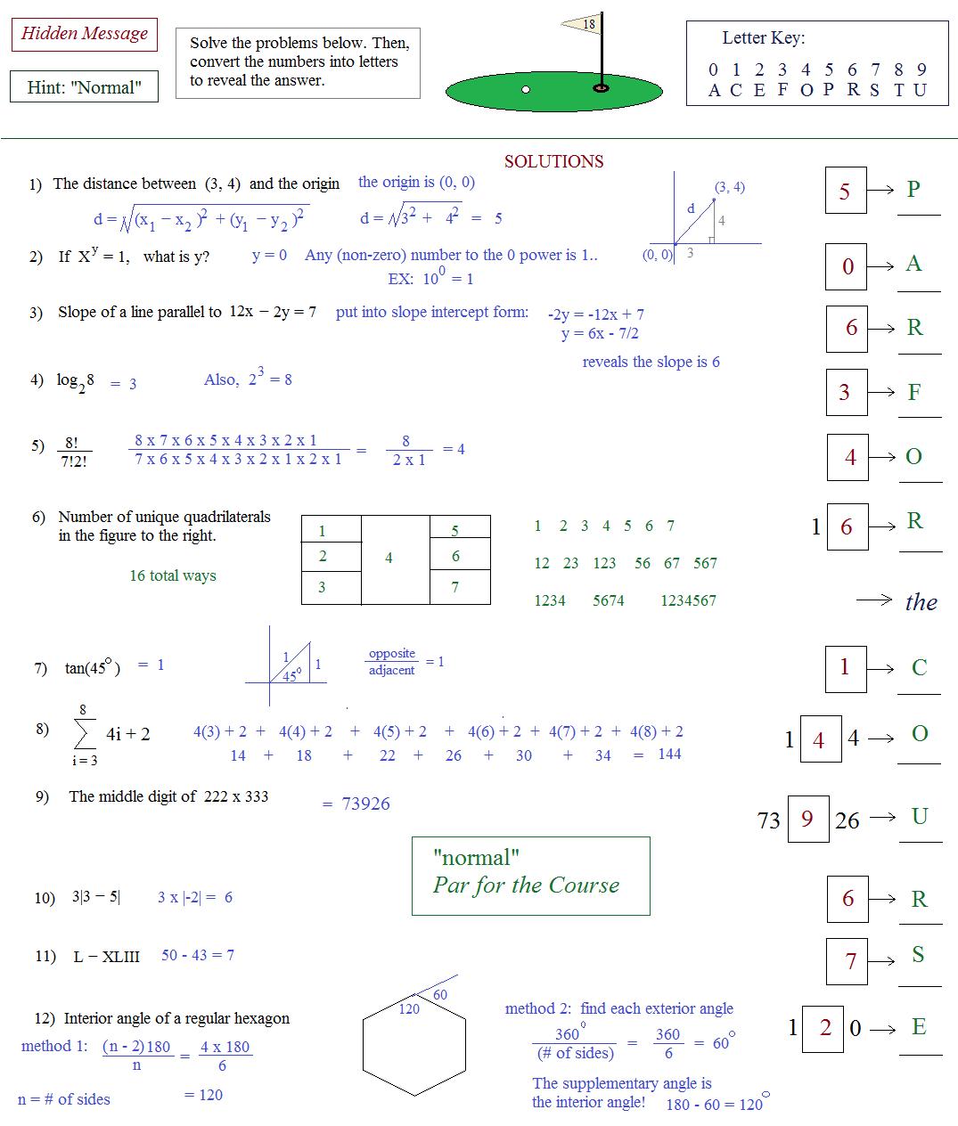 Act Math Worksheets Free Worksheets Library