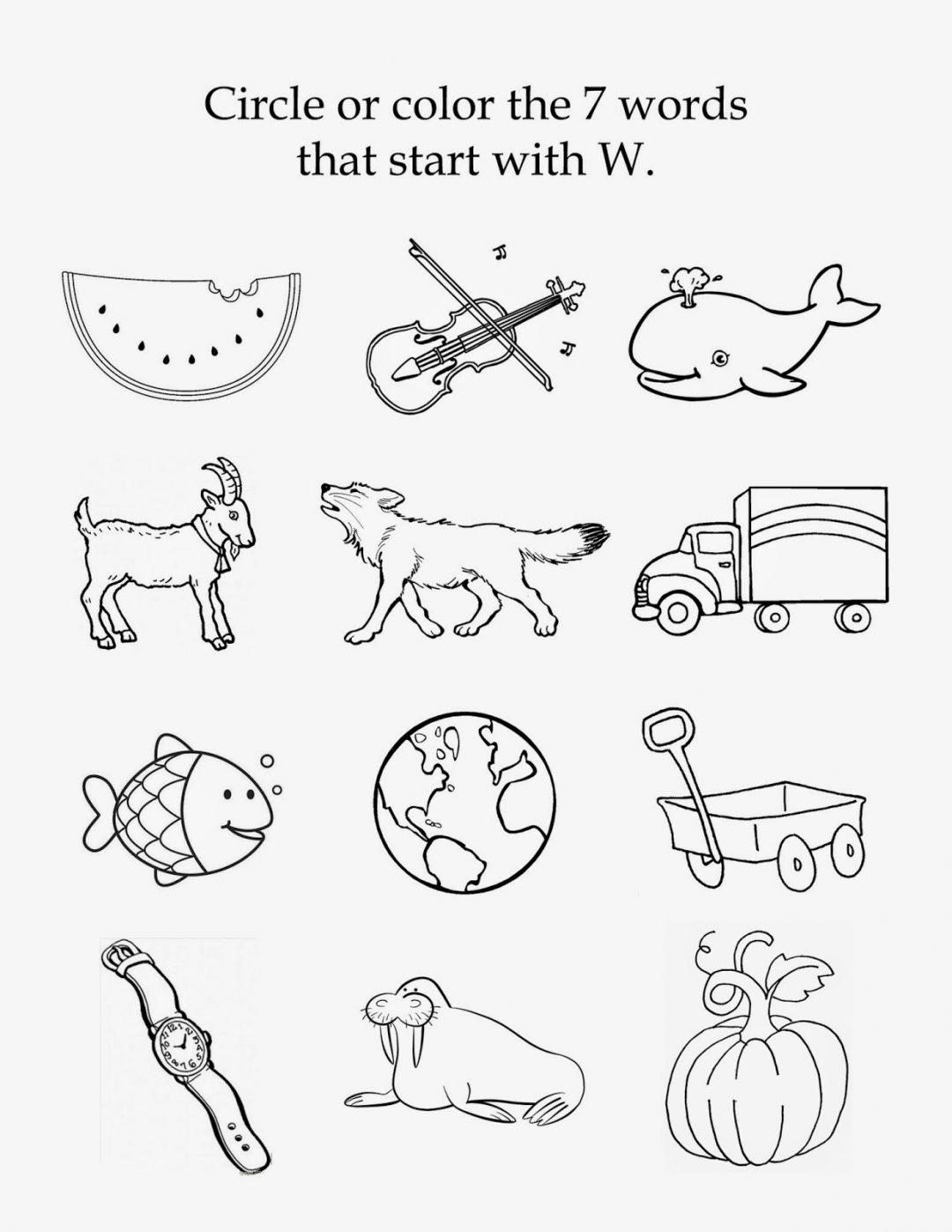 Beginning Soundrksheets For Kindergarten Math Y Letter Sounds M