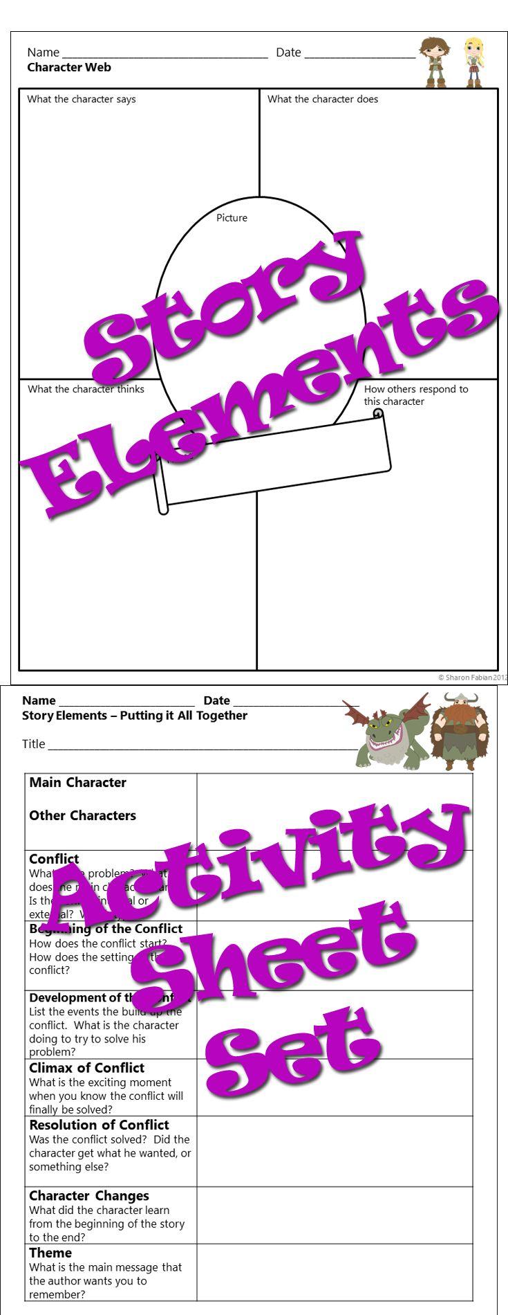 Best 25+ Story Elements Worksheet Ideas On Worksheets Samples