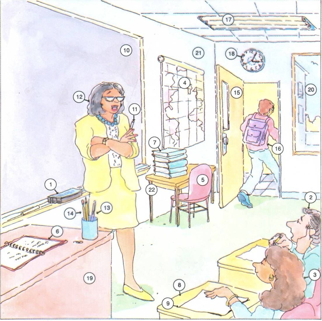 Classroom Vocabulary & University Life