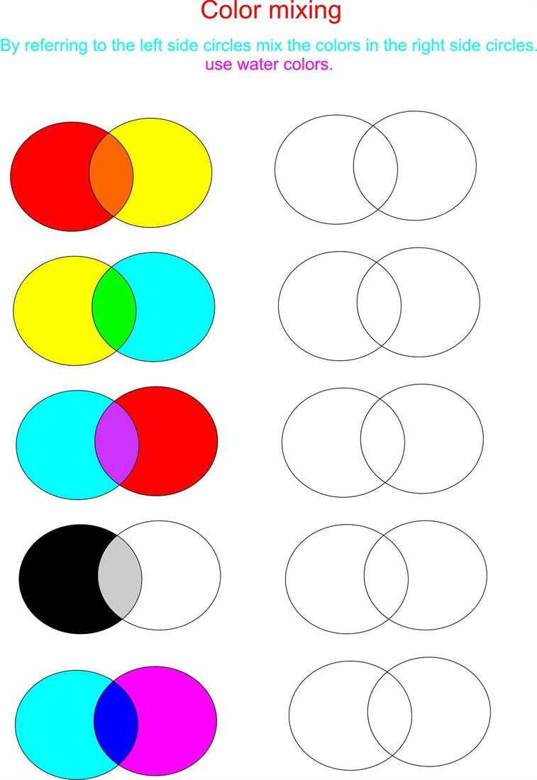 Color Mixing Is Really Fun ! Try Here !