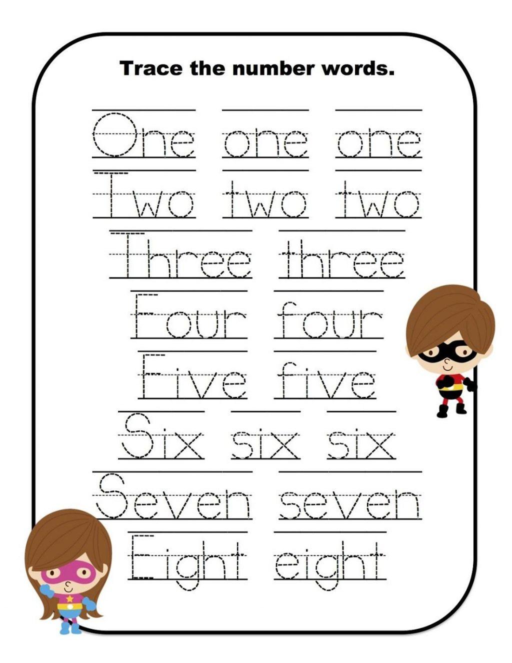Compound Words Worksheets Preschool For Kindergarten Math