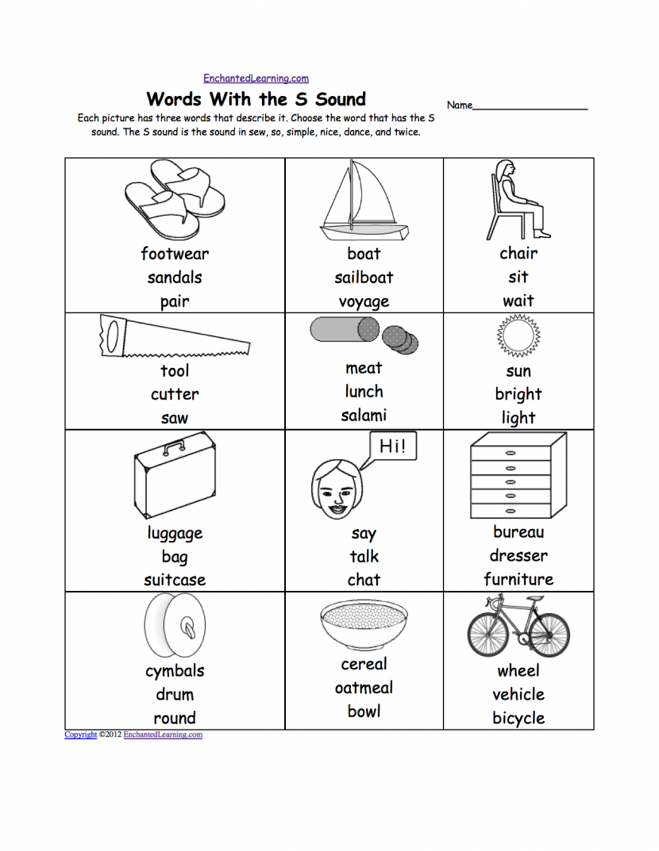 Consonant Blends Worksheet For Kids Royalty Free Cliparts Vectors