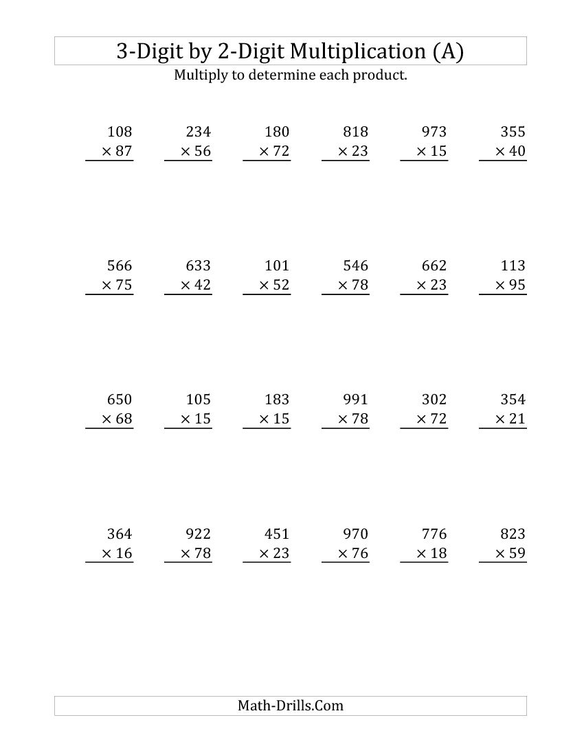Copy Of Single Digit Multiplication Worksheets Lessons Tes Teach 3