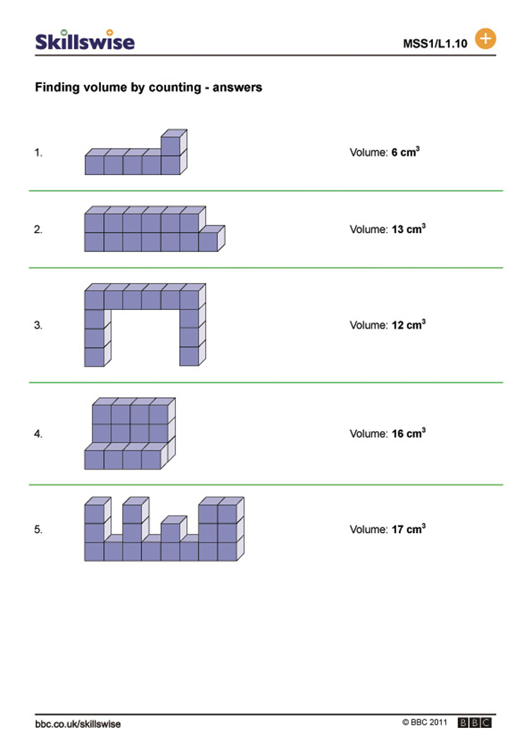 Counting Cubes Worksheet Free Worksheets Library