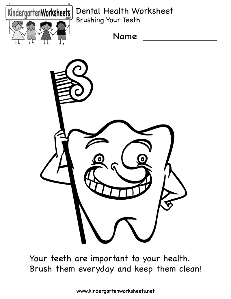 Dental Health For Kids Printables Coloring Europe Travel Free