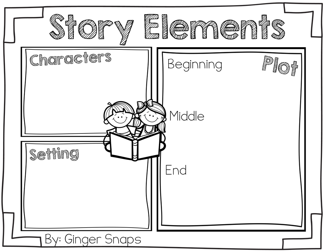 Element Clipart Story Map