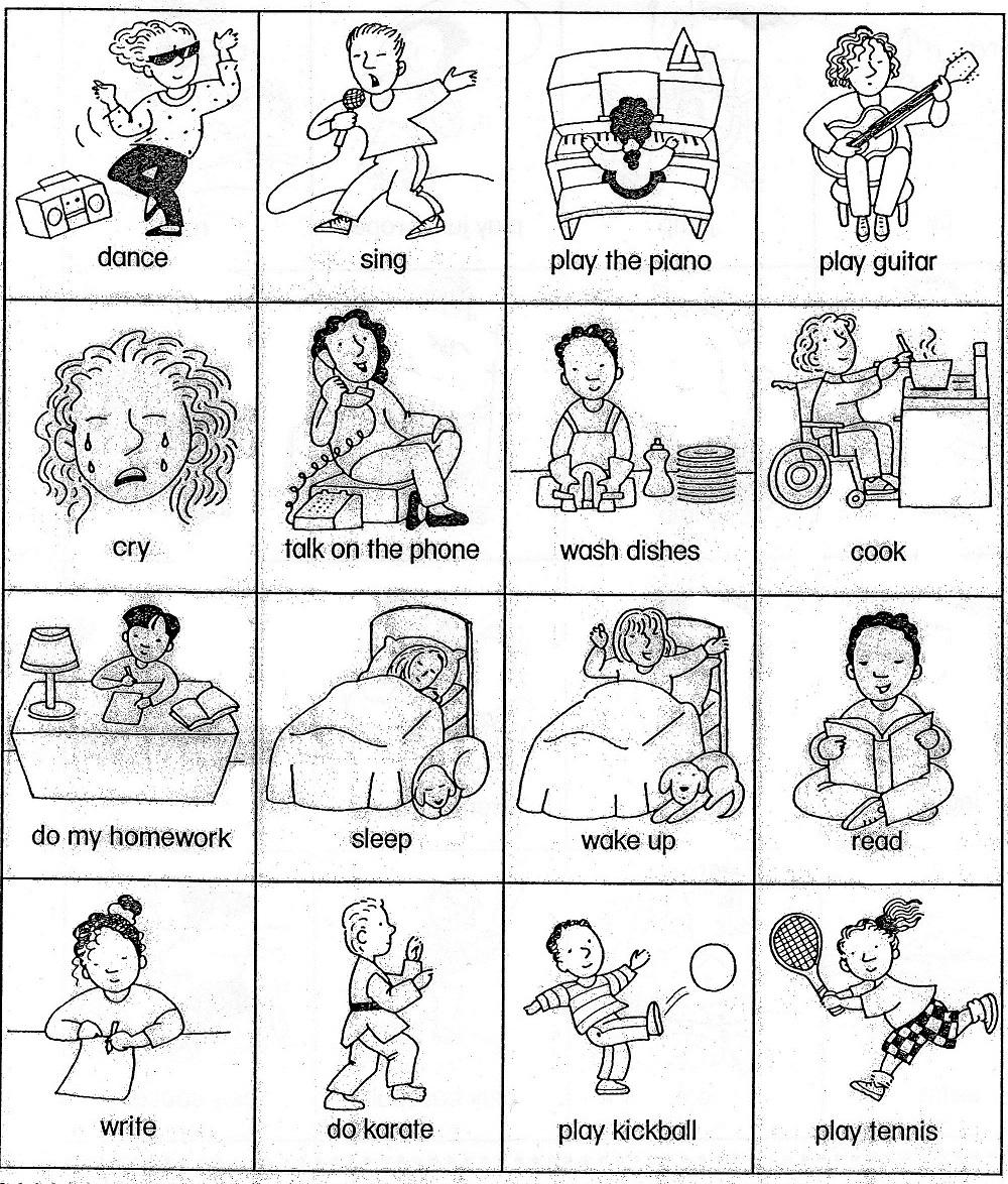 English Worksheet For Kids Printable