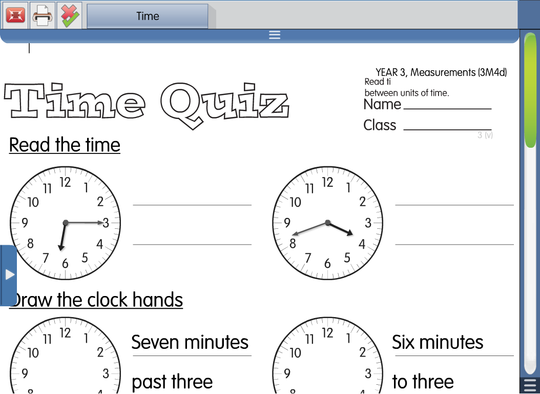 Estimate And Read Time To The Nearest Minute Using Vocabulary Such