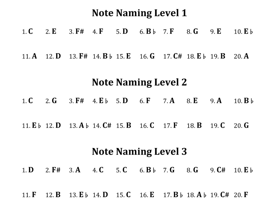 Free Band & Orchestra Worksheets