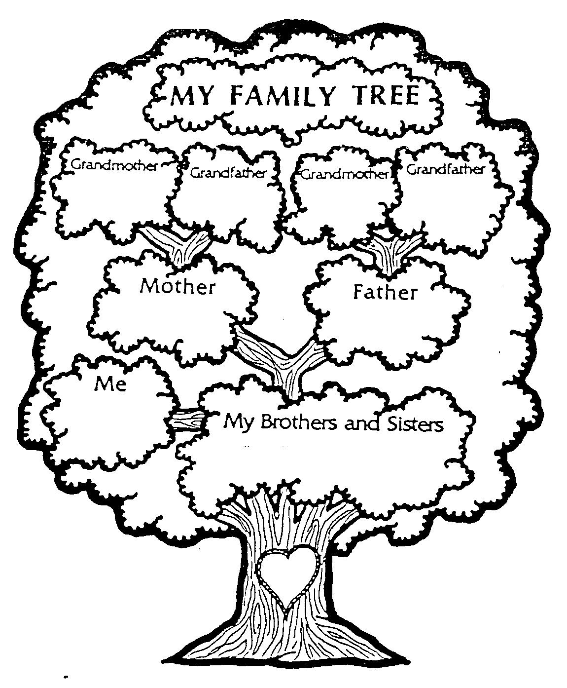 Free Family Tree Worksheets