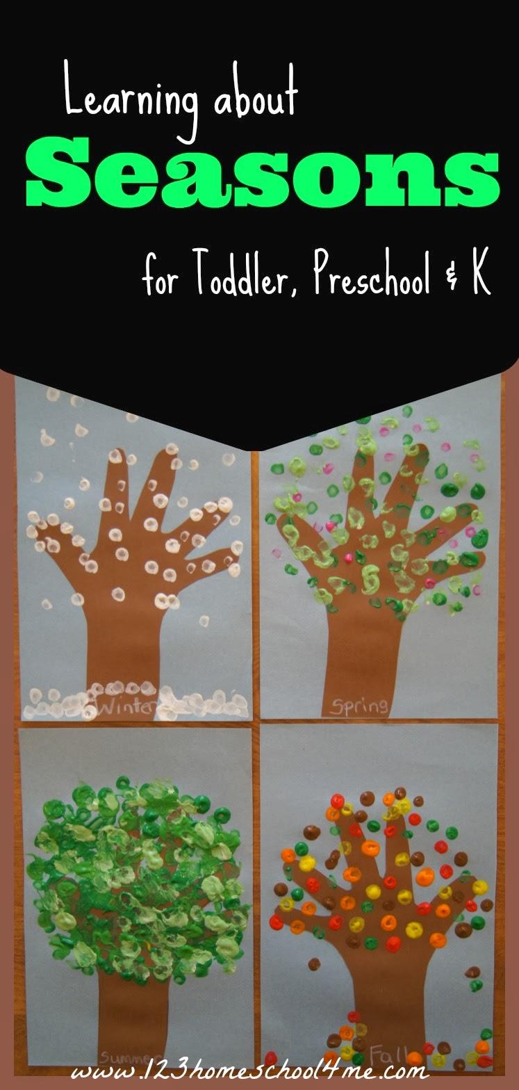 Free Printable Seasons Activities