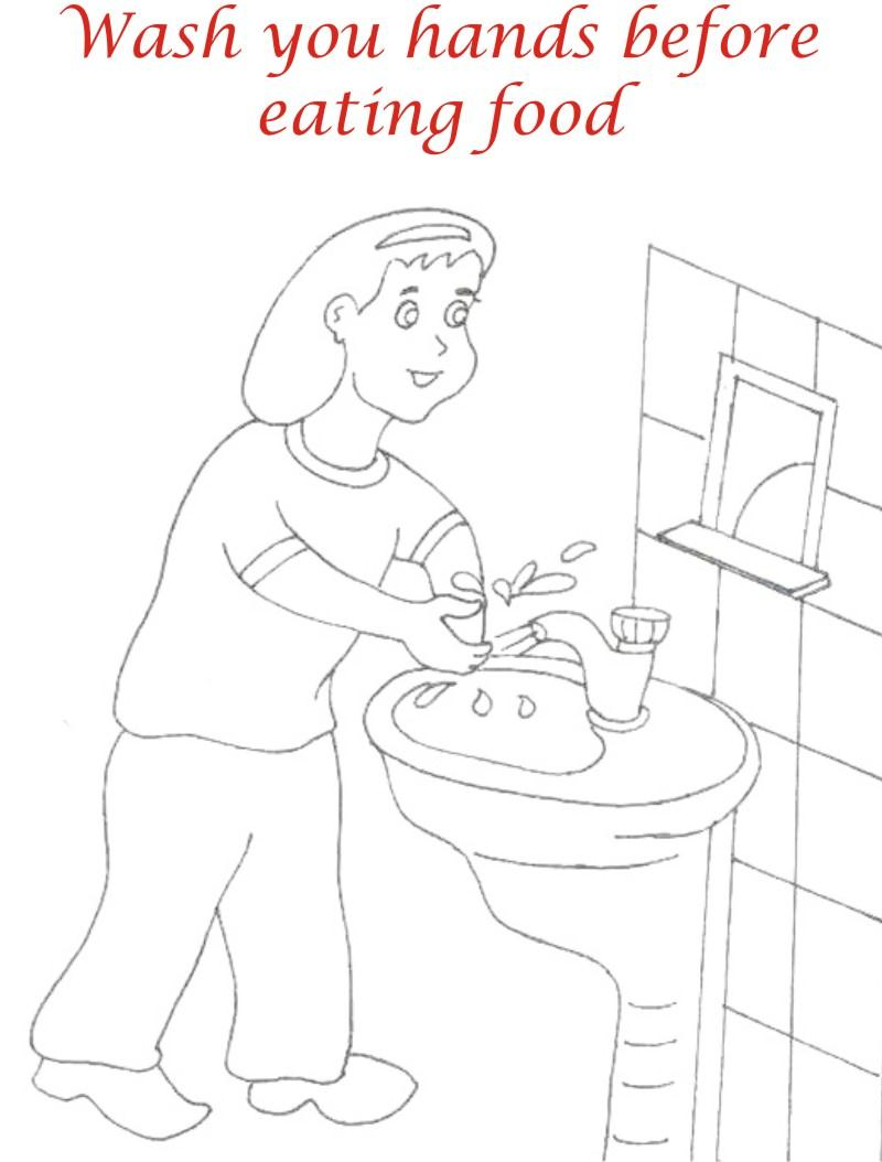 Good Manner Words Coloring Page Manners Pages For Kids