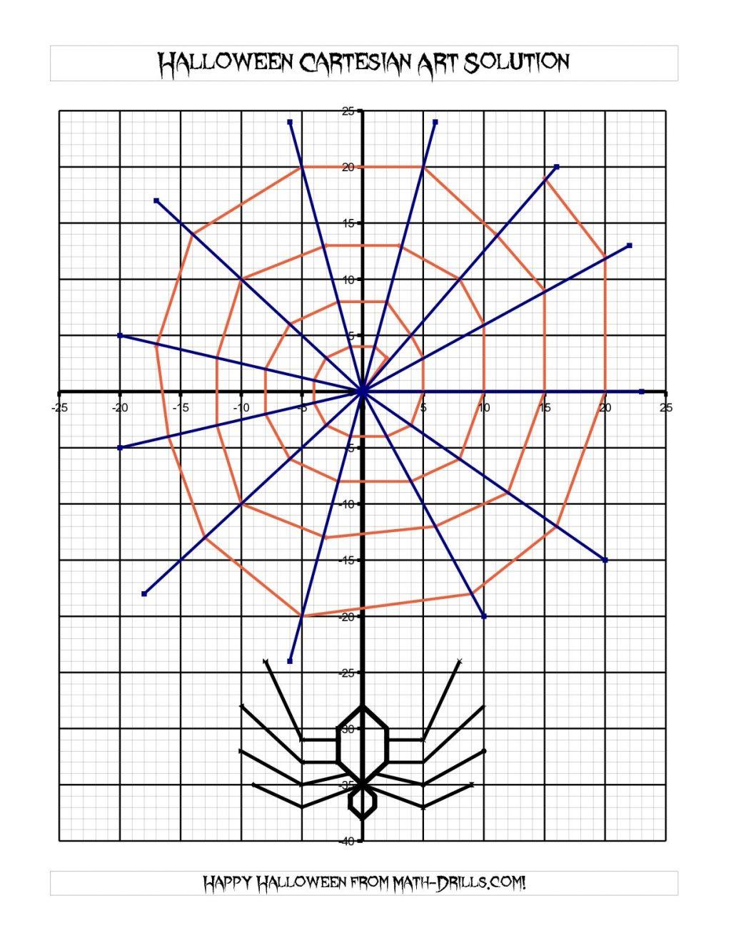 Halloween ~ Halloween Math Problems High School Worksheets For
