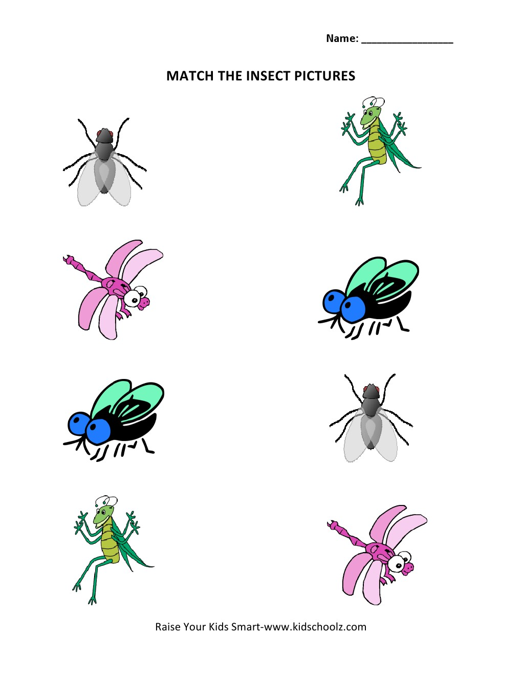 Insects Beginning Sounds