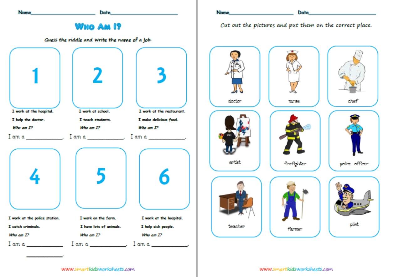 Job Worksheets Free Worksheets Library