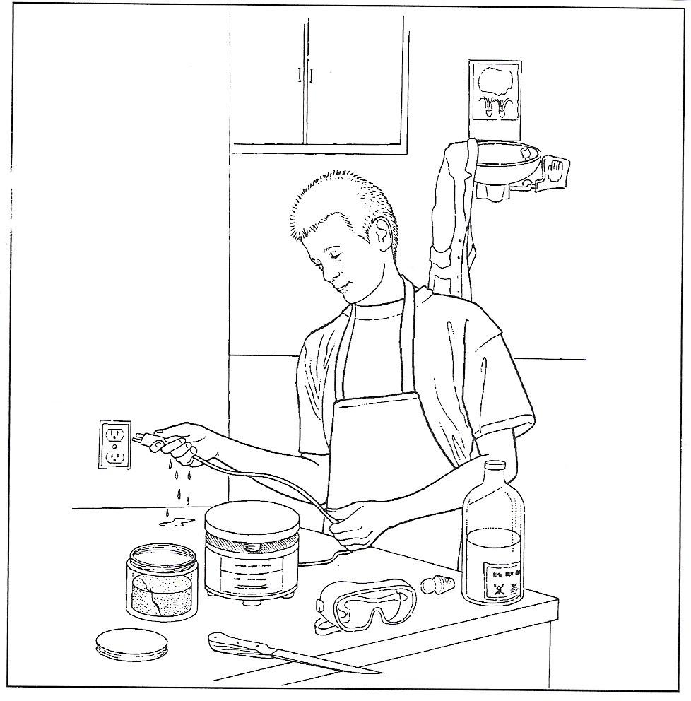 Lab Safety Cartoon Worksheet Free Worksheets Library