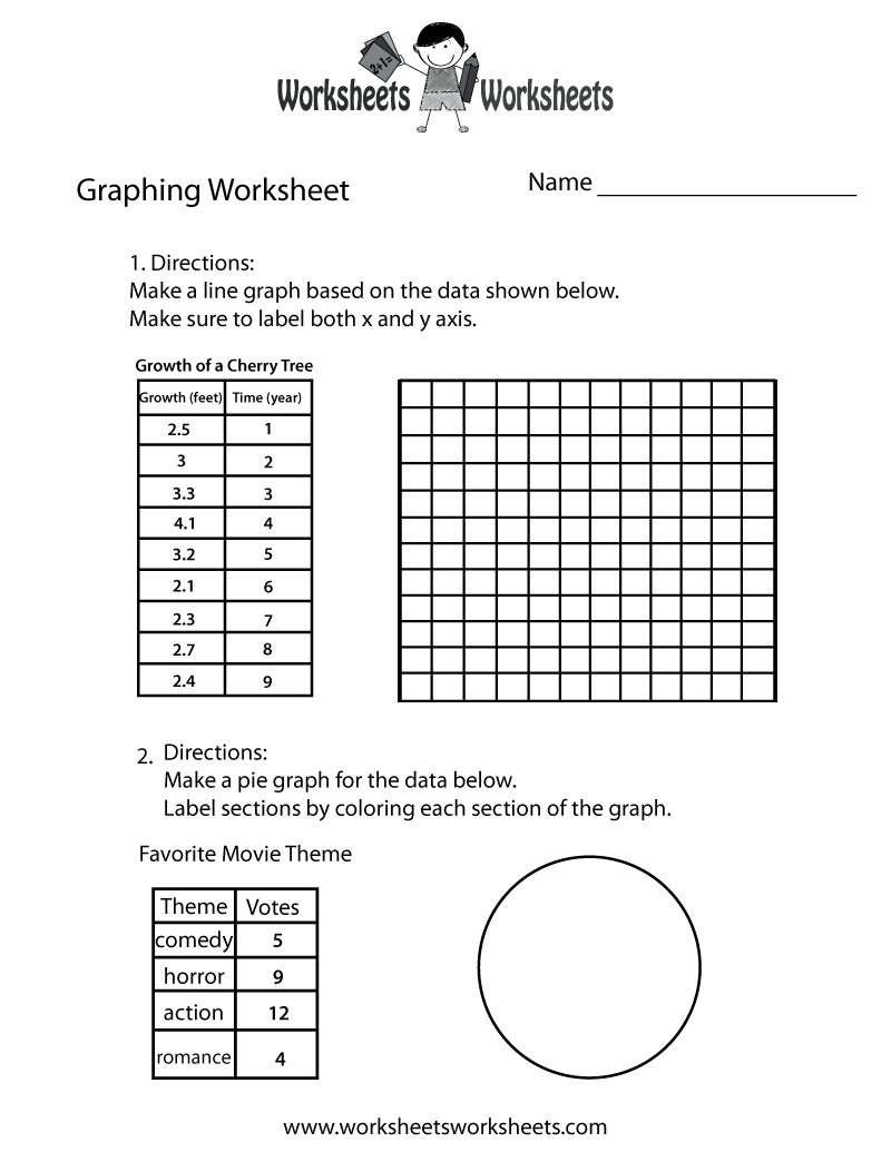 Make A Graph Worksheet