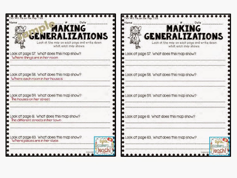 Making Generalizations Worksheets Free Worksheets Library