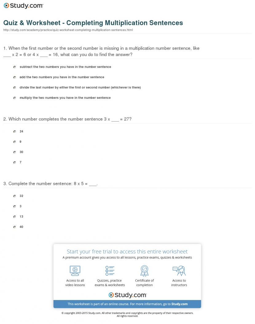 Multiplication Sheets 4th Grade Worksheets Double Digit Printable