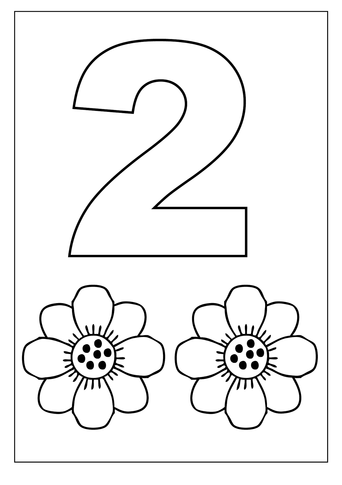 Number 2 Worksheets Free Worksheets Library