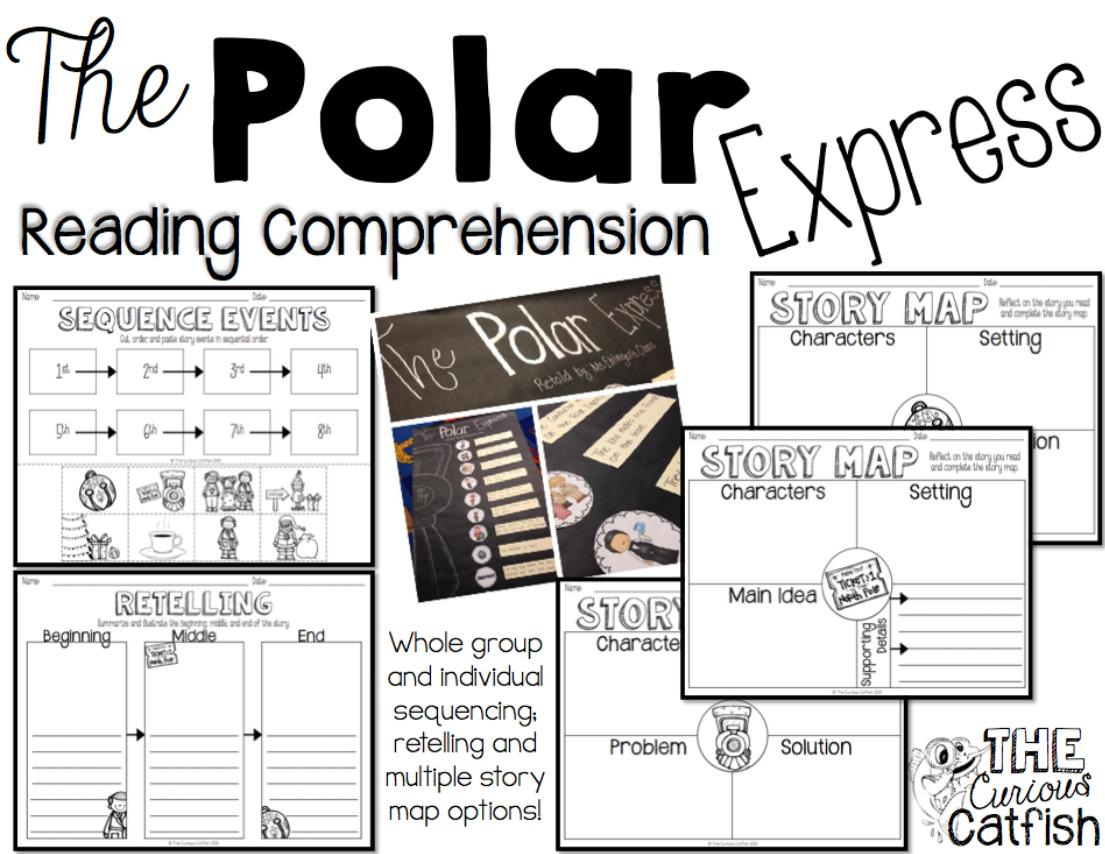 Polar Express Math Worksheets Free Worksheets Library