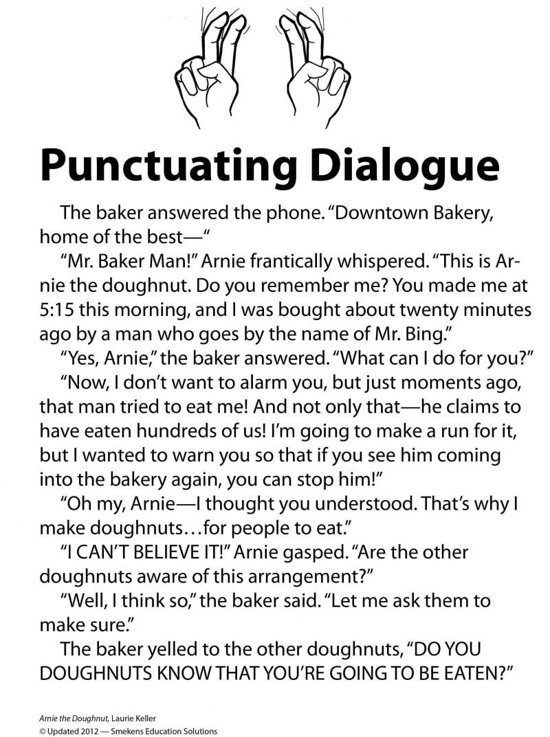 Punctuate Dialogue With Comic Strips, Candy Hearts, & More