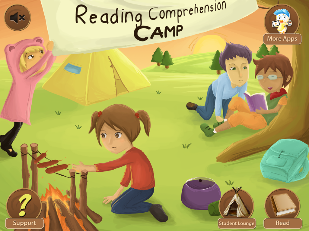 Reading Comprehension Camp  Review