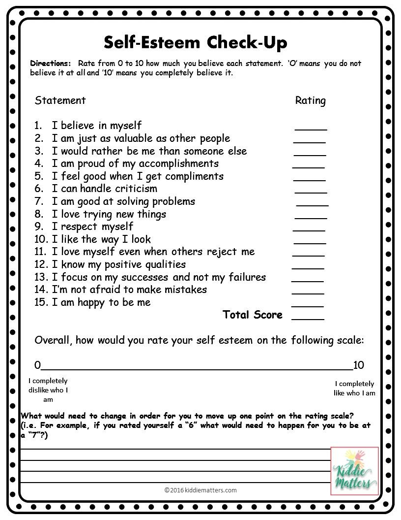 worksheet Self Esteem Worksheets Pdf self esteem therapy worksheets
