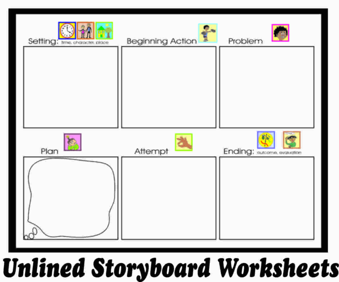Story Planning Worksheets
