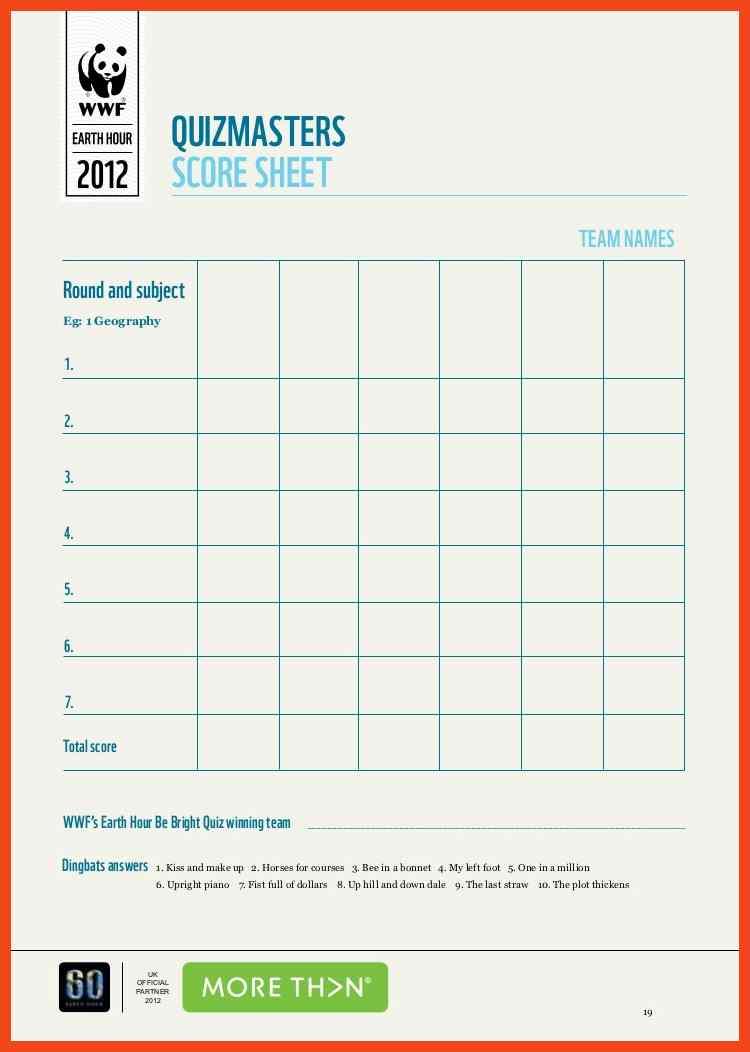 Vocabulary Quiz Template Worksheet Free Blank Receipt Template