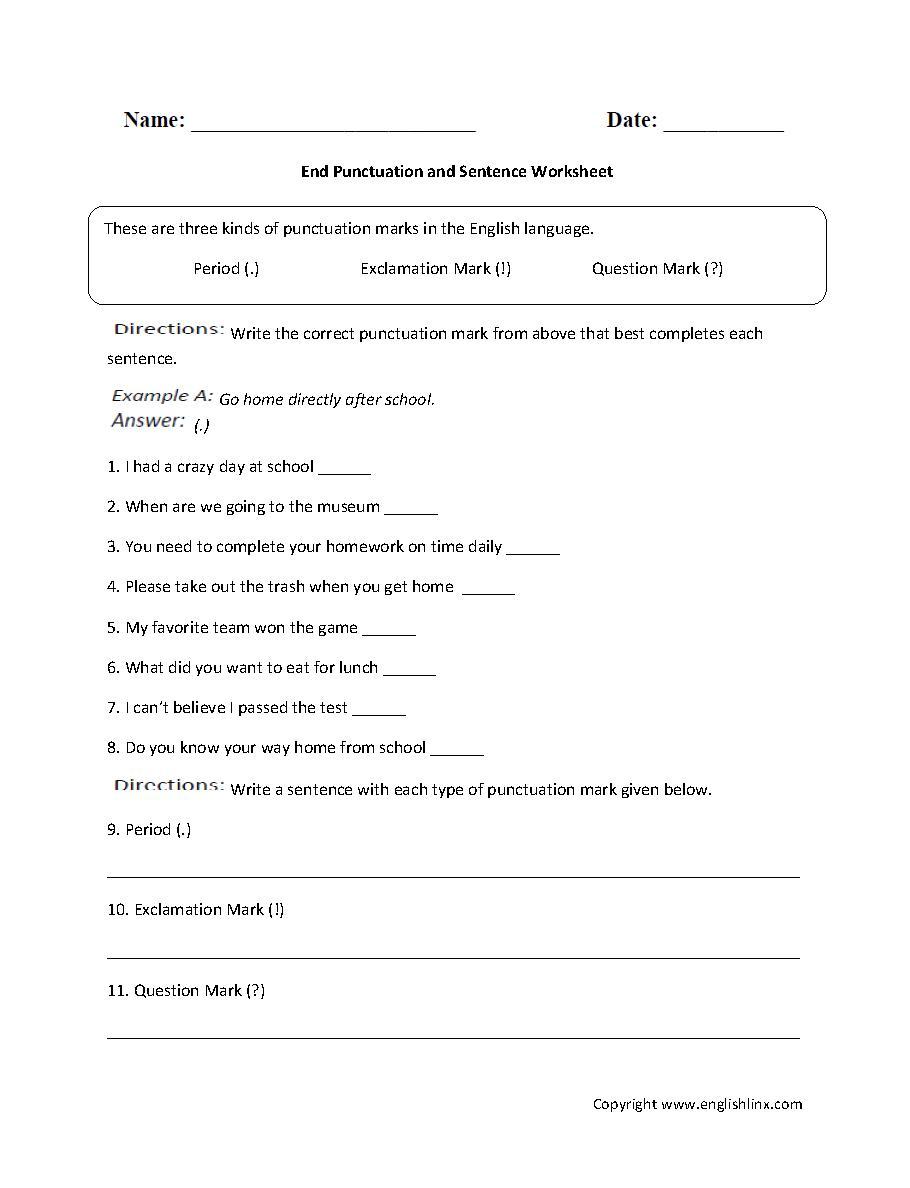 Words Ending Le Worksheets