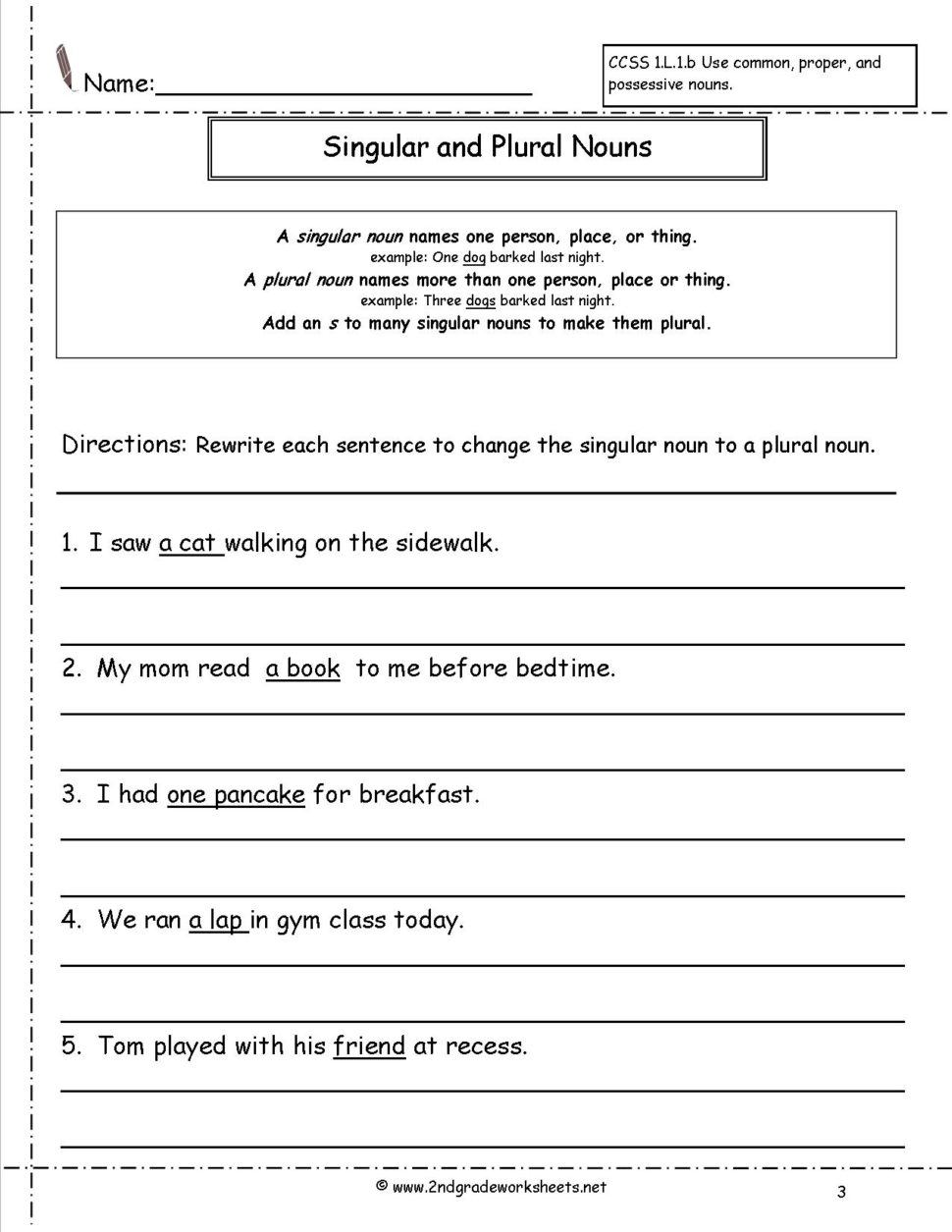 Worksheet   Concrete Words Noun Worksheets Pdf With Answers
