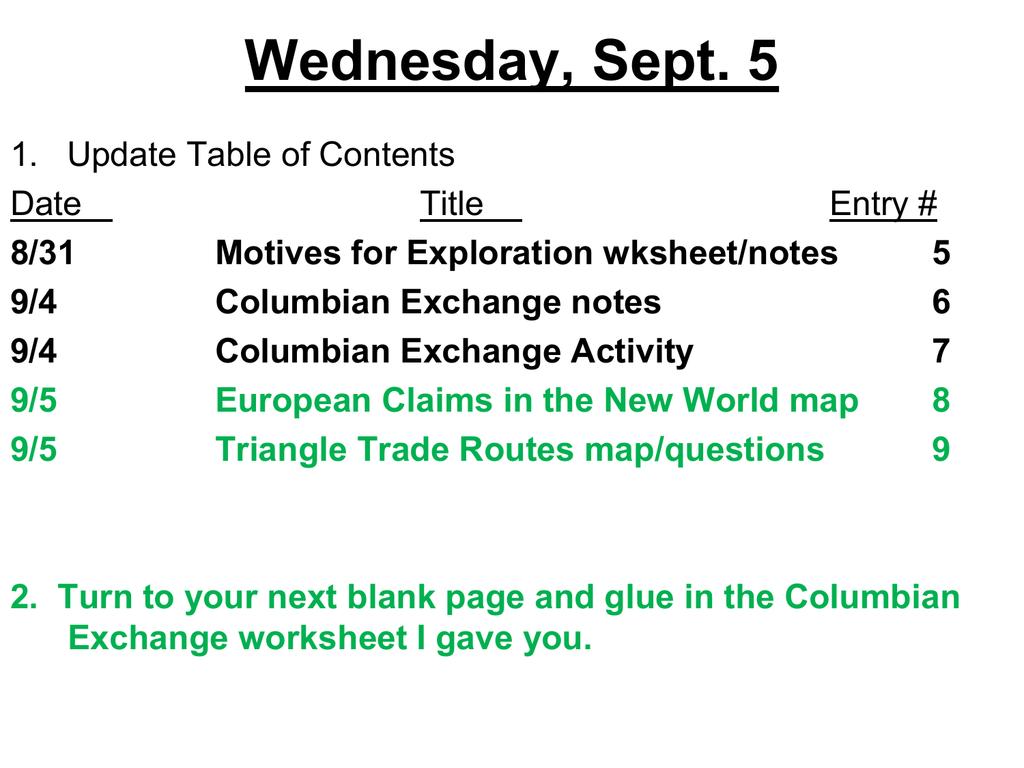 Worksheet  Columbian Exchange Worksheet  Mytourvn Worksheet Study Site