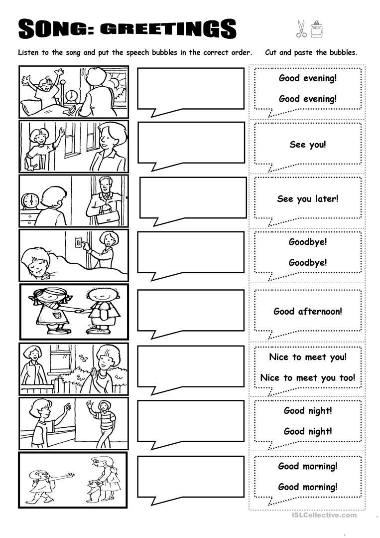 Worksheets  Spanish Greetings Worksheet  Glancely Free Worksheets