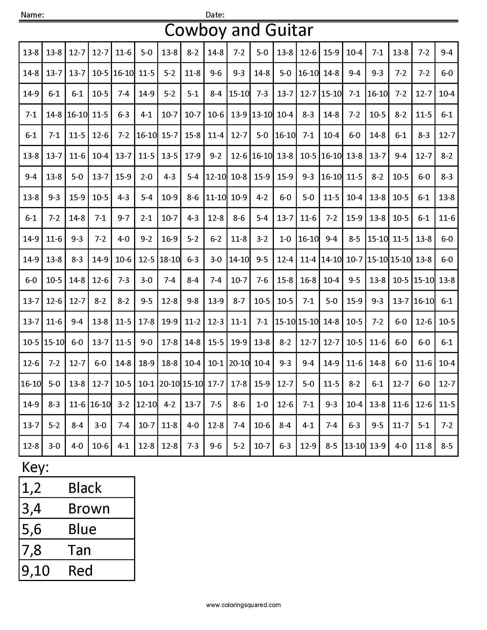 3dsc4 Valentine Free Math Fact Coloring Pages Squared Riddle