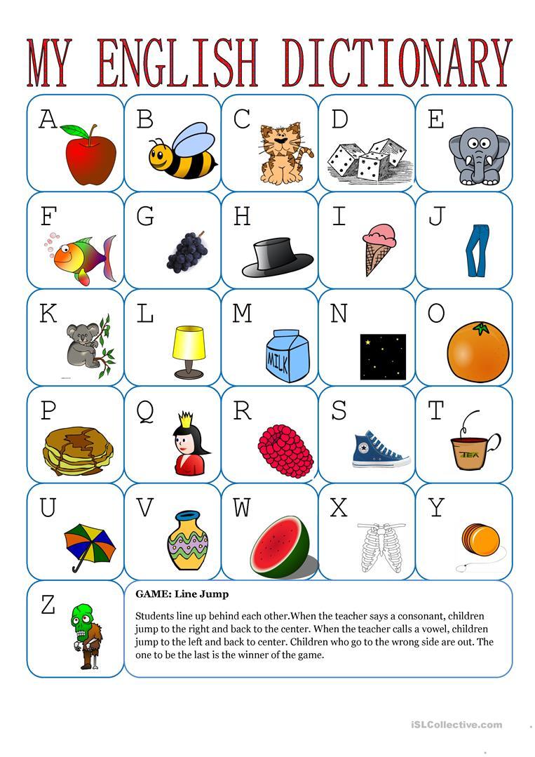 497 Free Esl Alphabet Worksheets