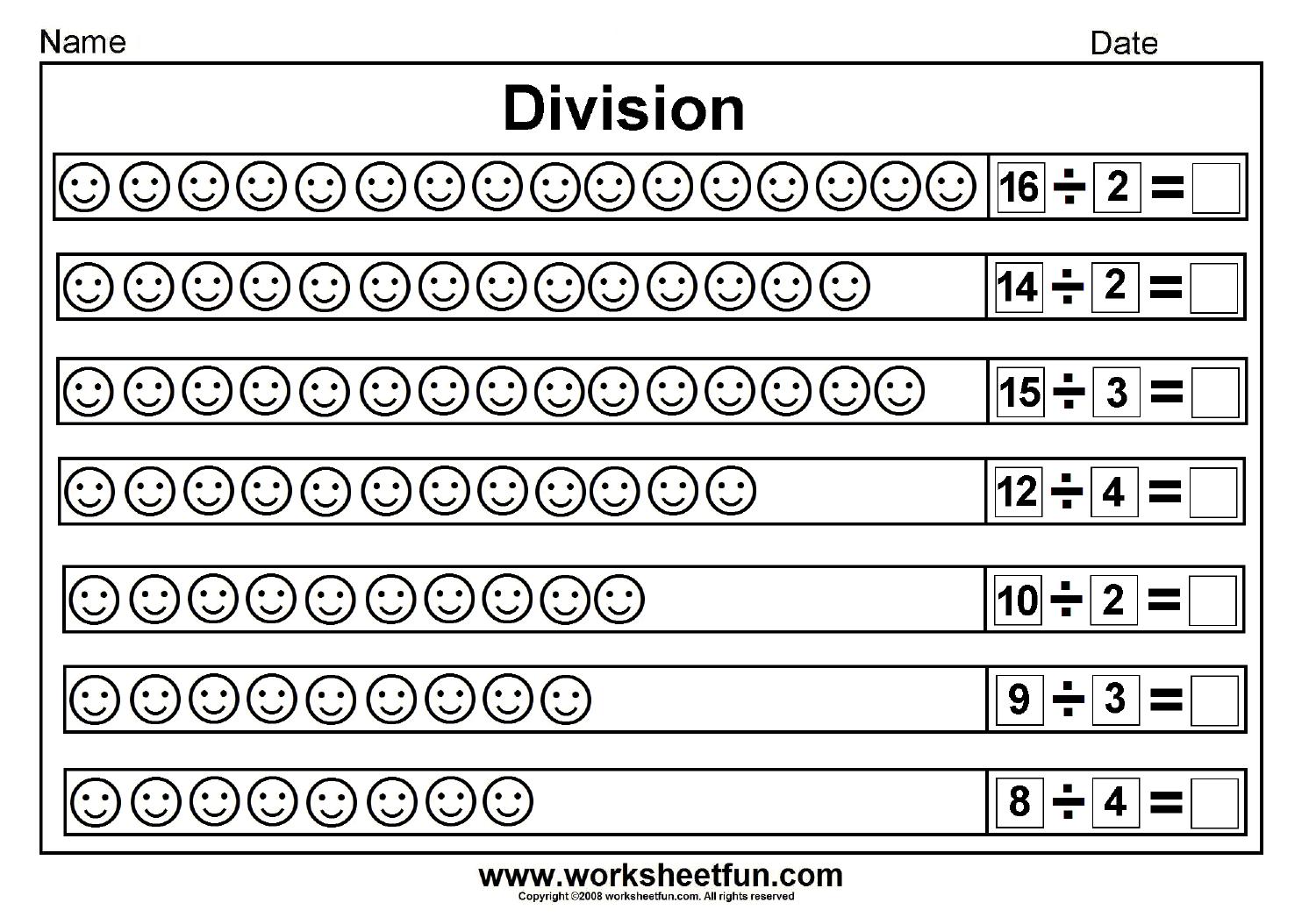 4th Grade Division Worksheets Homework Worksheets For All