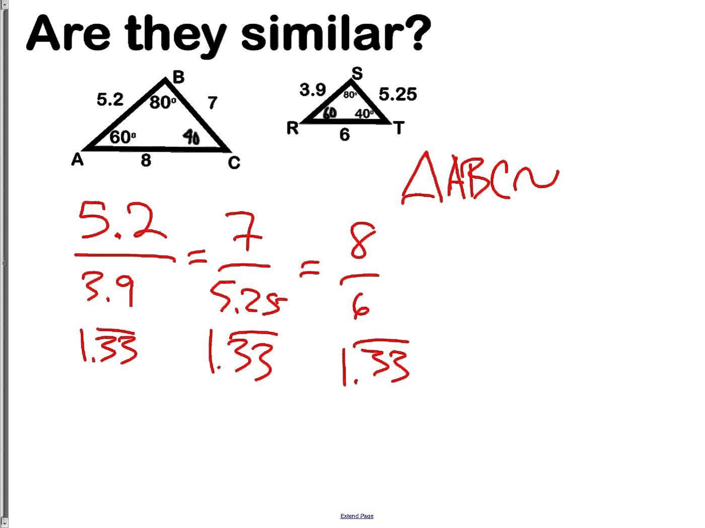 6 2 Similar Polygons